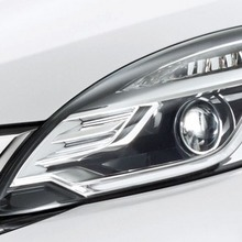 Projector Headlight with LED Position (RS)