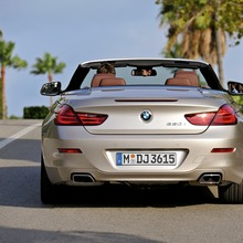 Das neue BMW 6er Cabrio - Exterieur (11/2010). The new BMW 6 Series Convertible - Exterior (11/2010).