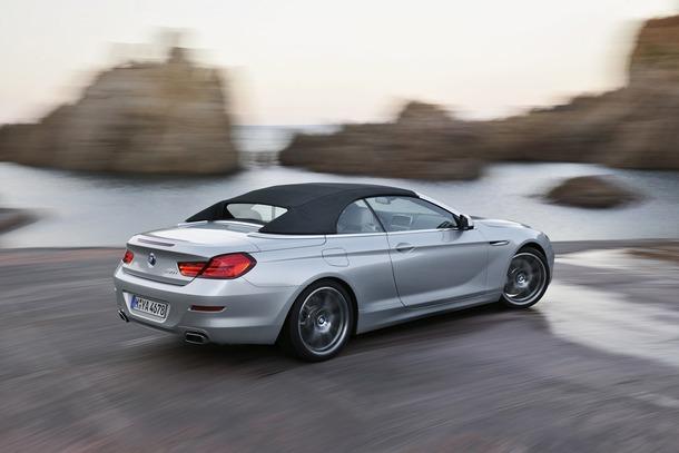 Das neue BMW 6er Cabrio - Exterieur (11/2010). The new BMW 6 Series Convertible - Exterior (11/2010).