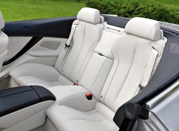 Das neue BMW 6er Cabio - Interieur (11/2010). The new BMW 6 Series Convertible - Interior (11/2010).