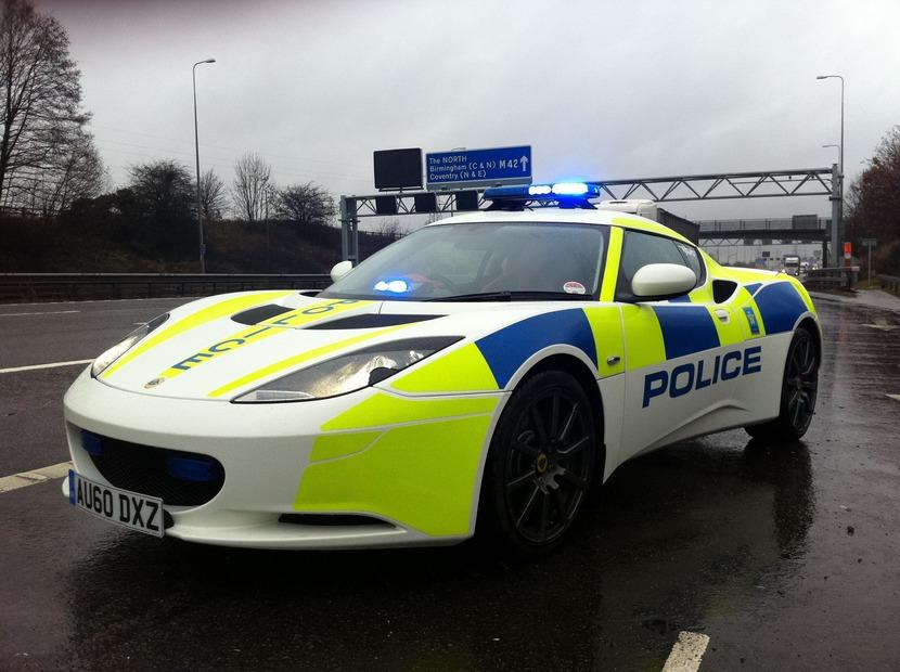 Lotus-Evora-Police